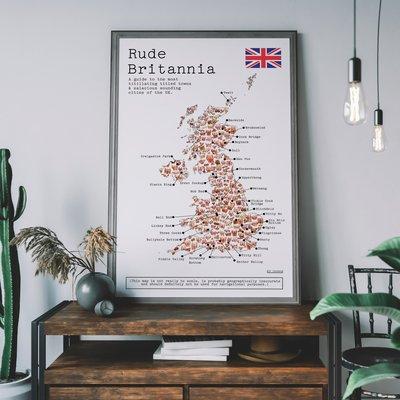 Rude Britannia Print image