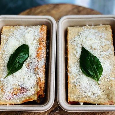 Beef & Ricotta Lasagne serves 2  image