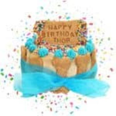 7 Inch Birthday Cake (Cake Only) image