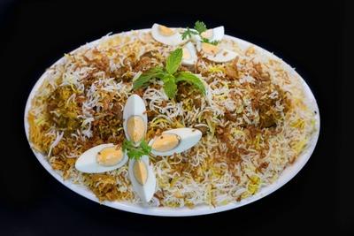 Hyderabadi Mutton  Biryani (Family Pack-1.5Kg) image