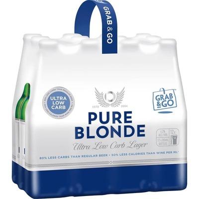 Pure Blonde Bottles 12x355mL image