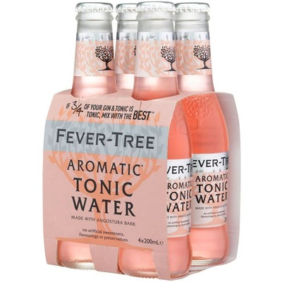 FEVER TREE AROMATIC TONIC WATER 4PACK image
