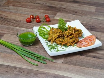 The Spicy Pakora also known as Onion Pakora image