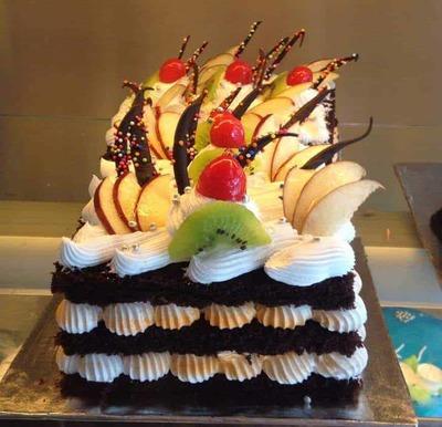 Fruit Fantasy Cake-Egg image