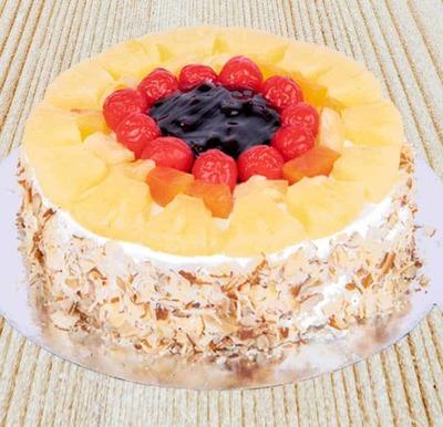 Fruit Filas Cake-Egg image