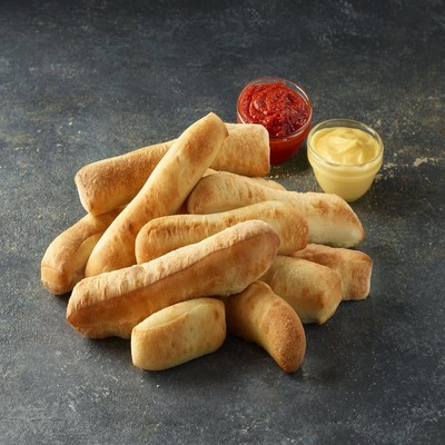 Breadsticks (served with garlic sauce and pizza sauce as pre selected. Customer can change) image