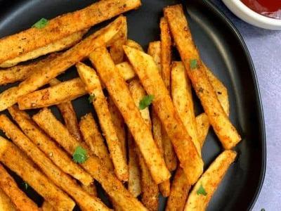 Seasoned French Fries image