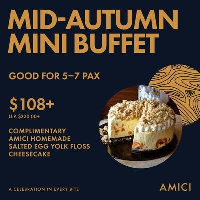 (U.P: $108+) Mid-Autumn Mini Buffet image