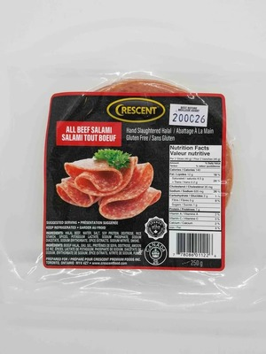 Crescent All Beef Salami 250 g image