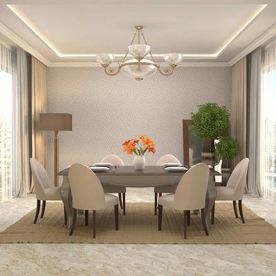 Dining Area - Carpet shampoo (40 mins) image