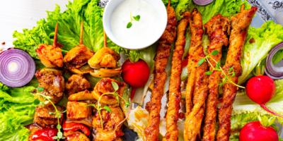 Souvalaki Salad image