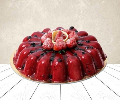 Bluberry cake image