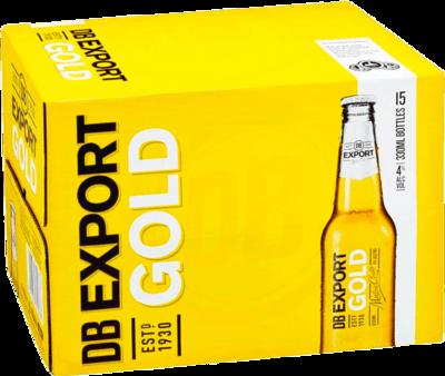 Export Gold Bottles 15x330mL image
