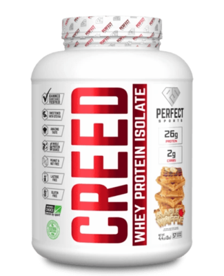 CREED WHEY PROTEIN ISOLATE 4.4 - 4 Flavours image