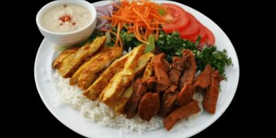 Souvalaki Rice image