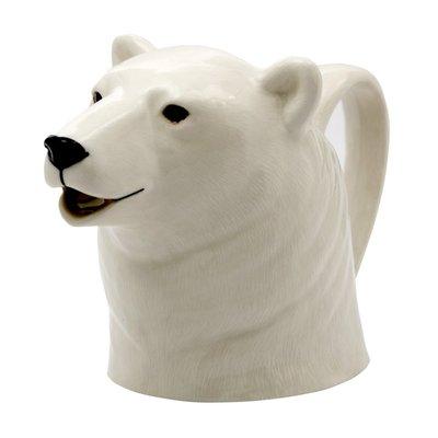 Polar Bear Jug by Quail Ceramics - Three Sizes image
