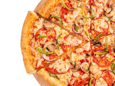 Vegetable Pizza image