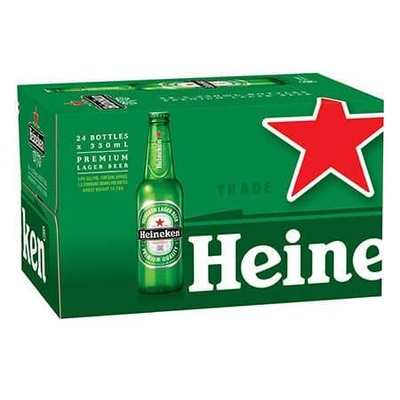 Heineken Bottles 24x330mL image