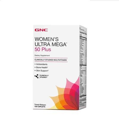 GNC WOMEN'S ULTRA MEGA 50 PLUS, 120ct image