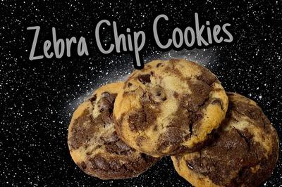 Dozen Zebra Chip Cookies (12) image