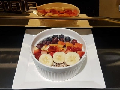 Rainbow Berries Muesli Bowl image