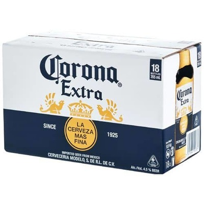 Corona Extra Bottles 18x355mL image