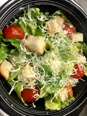 Caesar Salad with yoghurt ranch dressing image