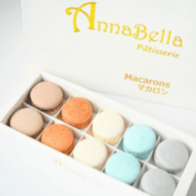10pcs Classic Macarons (Classic3) in Gift Box and Paper Bag image