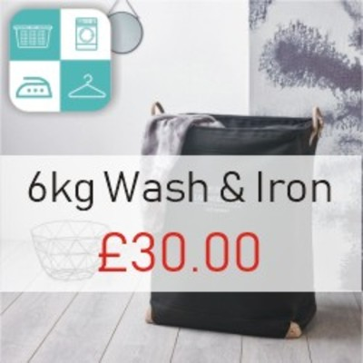 6KG wash and iron image