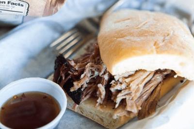 BBQ Pulled pork Sandwich image