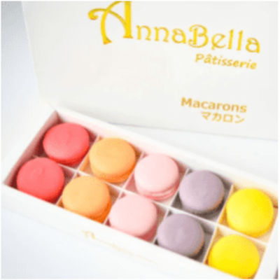 10pcs Classic Macarons (Classic2) in Gift Box and Paper Bag image
