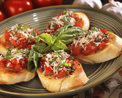 Vegetable Bruschetta image