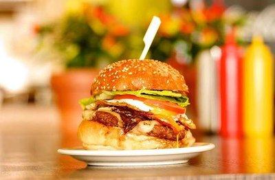 Chicken Dynamite Burger image