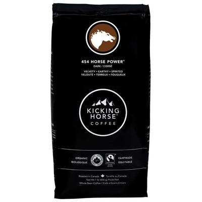 Kicking Horse Coffee Ground 454 Horse image