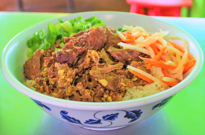 Spicy Ginger Beef Rice Bowl image