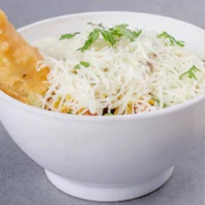 Cheese Samosa Chaat image