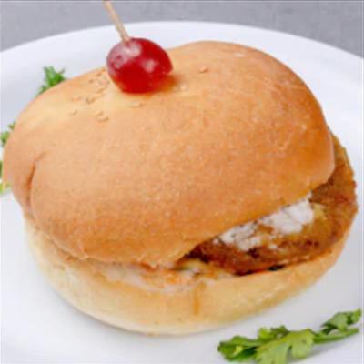 Veg Burger image