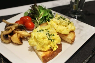 Poached or Scrambled Eggs image