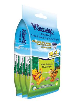 Kleenex Hand Sanitizing Wipes Disney 10s x 3 image