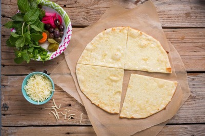 Kashkaval Cheese Man'oushe image