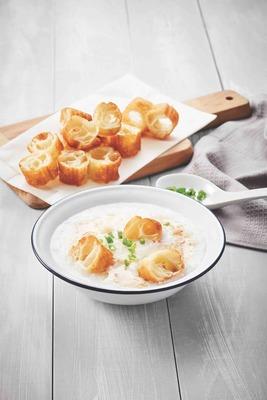 Set A Yoo Tiao + Porridge image