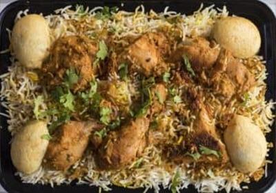 Hyderabadi Chicken Biryani (Family Pack-1.5Kg) image
