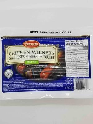 Crecent Chicken Wieners 450 g image