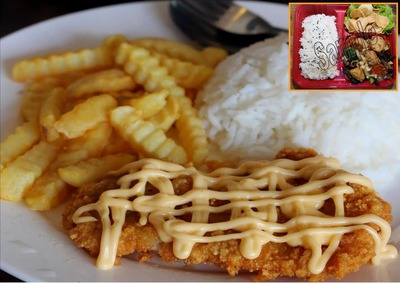 Cheezy Fish Fillet Rice 芝士鱼柳饭 image