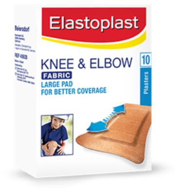 Elastoplast Knee & Elbow Fabric Plasters image