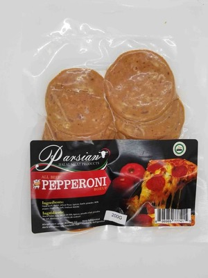 Parsian Halal, All Beef Pepperoni 200 g image