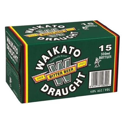Waikato Draught Bottles 15x330mL image