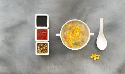 Sweet Corn Veg Soup image