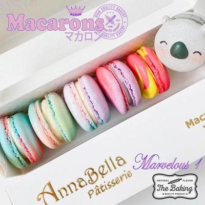 6PCS Macarons in Gift Box (Marvelous 1) image