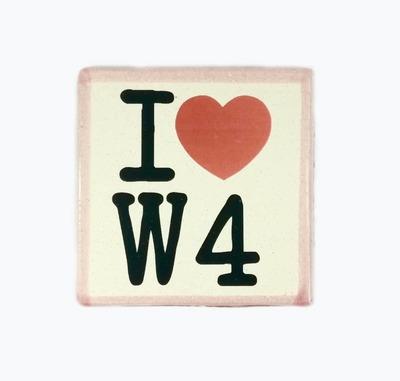 I ❤ W4 (Pink) image